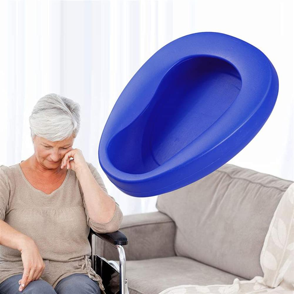 HJK New popularity Firm Thick Stable Large Max 78% OFF Bedpan for Adults Bariatric
