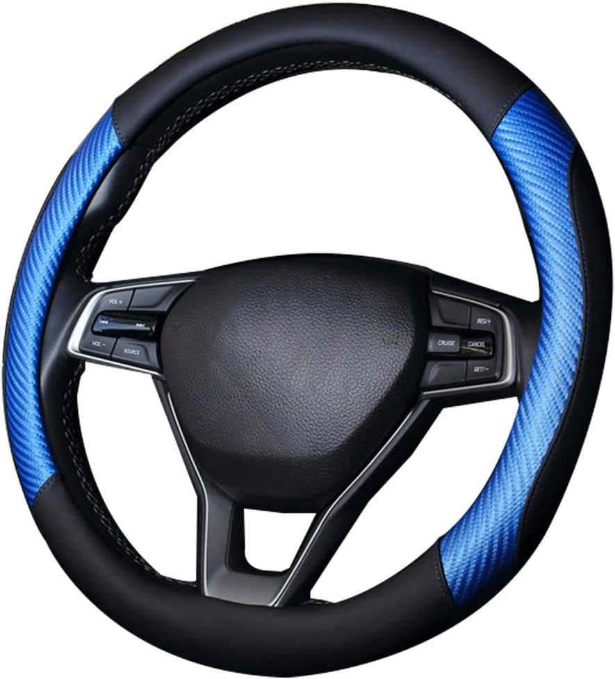 coofig Microfiber Leather security Steering Wheel Auto C Cover Breathable Super intense SALE