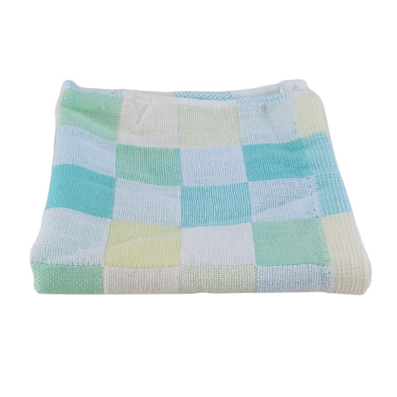 スピンスキル寛大さMaxcrestas - 28*28cm Square Towels Cotton gauze Plaid Towel Kids Bibs Daily Use Hand Face Towels for Kids