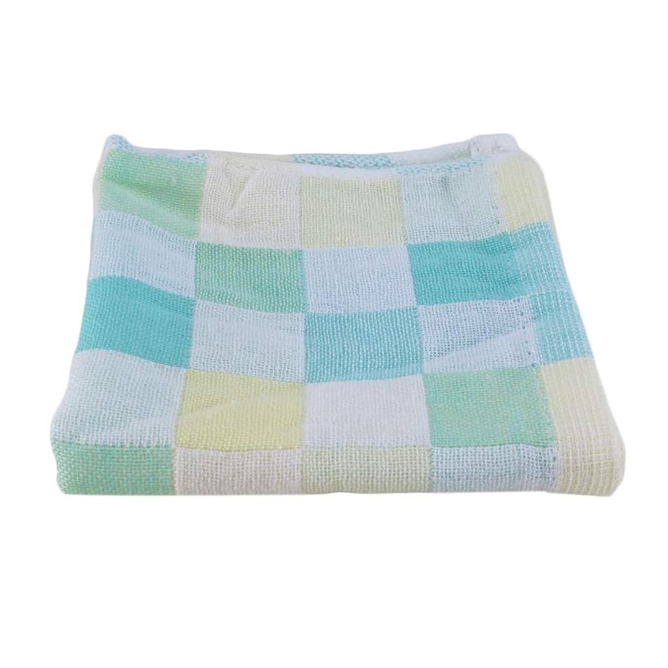 Maxcrestas - 28*28cm Square Towels Cotton gauze Plaid Towel Kids Bibs Daily Use Hand Face Towels for Kids