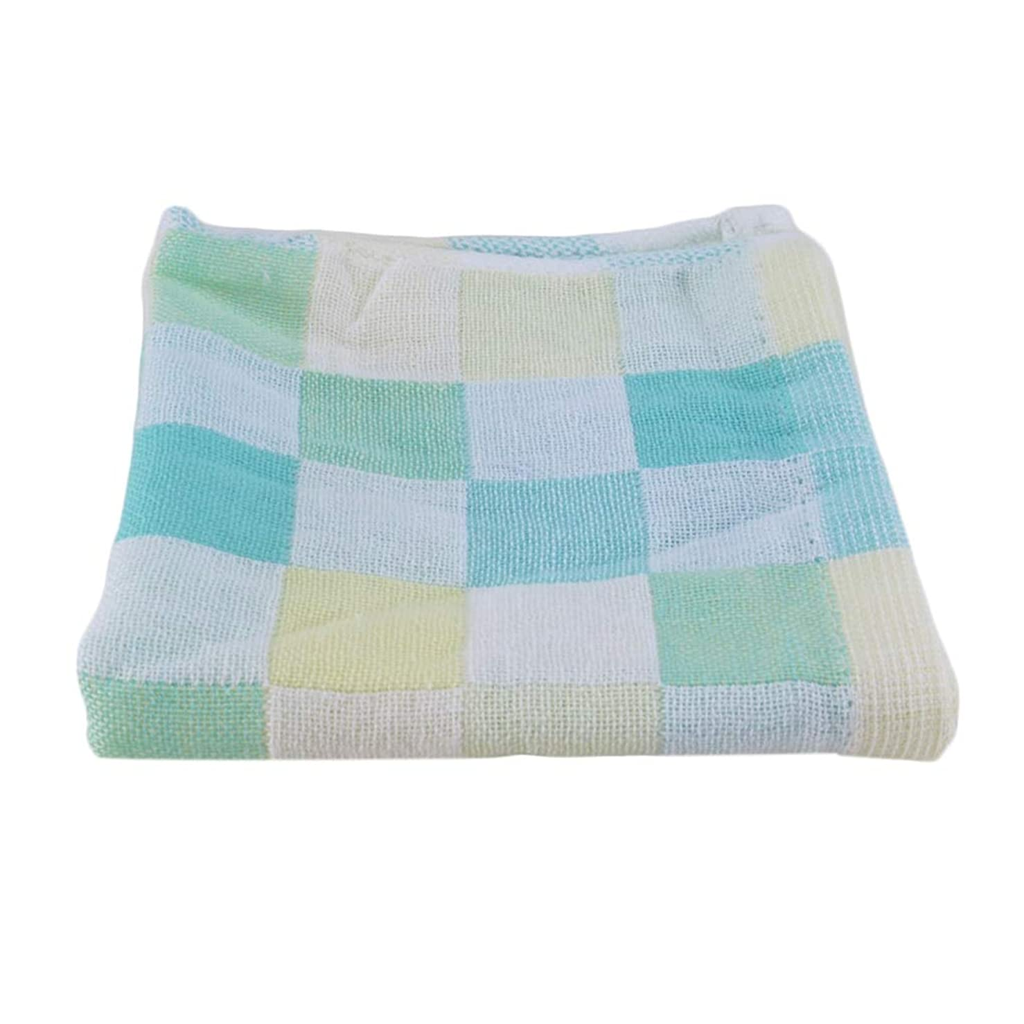 関税高さ命令Maxcrestas - 28*28cm Square Towels Cotton gauze Plaid Towel Kids Bibs Daily Use Hand Face Towels for Kids