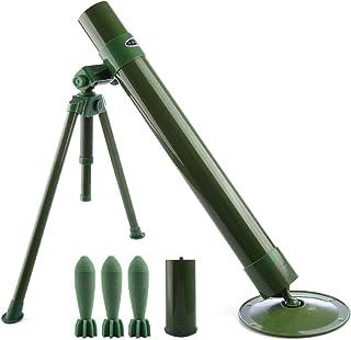 Goshfun Worker Tactics Mortar,60mm Caliber Foam Soft Bullet Launcher for Nerf CS Battle