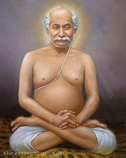 Hearts for Love/Nick Hodgson Portrait of Lahiri Mahasaya, Yogananda's Guru, Fine Art Print (8x10)
