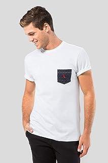 Camiseta Malha Variada Bolso 577 Bordado Reserva