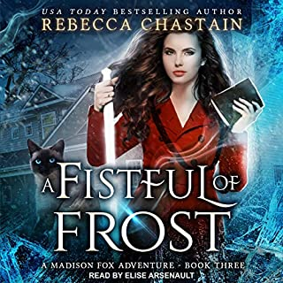 A Fistful of Frost audiobook cover art
