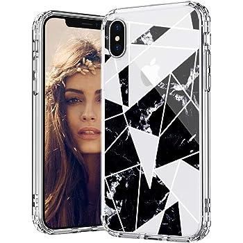 MOSNOVO COVER IPHONE XS Max Marmo Bianco Trasparente con Disegni