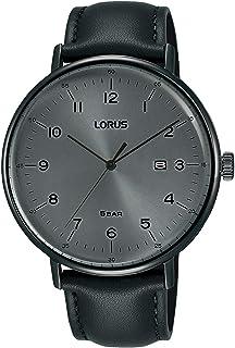 ساعة لوروس للرجال كوارتز انالوج بعقارب وسوار جلد RH983MX9