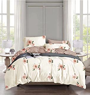 Starstorm_6 Pieces King Size Fitted Bed Sheet Set_Jelly Flower Design (Click above on Starstorm for more designs)