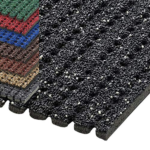 etm® Sicherheitsmatte gegen Glätte | rutschfeste Granulat Beschichtung | deutsches Qualitätsprodukt | 120 cm Breite | viele Farben und Längen (1,5 m Länge, anthrazit)