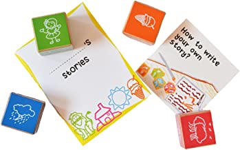 Shumee Wooden Tell Me A Story Cubes (4 Years+) - Storytelling & Articulation Skills