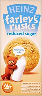 Heinz Farley's Rusks Reduced Sugar 4mth+ (9 per pack - 150g) - Pack of 6