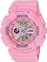Casio Women's Baby-G BA110-4A1 Matte Pink Polyurethane Japanese Quartz Sport Watch