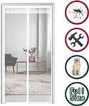 31x83inch THAIKER Moustiquaire Porte Magn/éTique Rideau Anti Mouche Anti Insecte Mouche Animaux Accept/éS pour Porte d Entr/ée Int/érieur//Patio Noir A 80x210cm