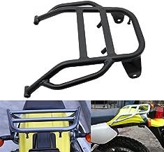 Alpha Rider Retro Style Black Rear Seat Luggage Rack Shelf Holder Rack Stock For Suzuki DR650 DR650SE