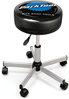 park tool rolling adjustable height shop stool