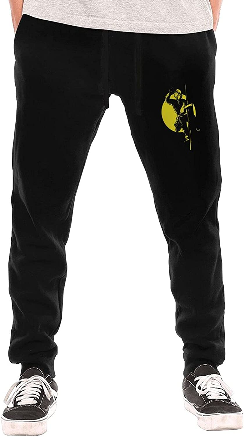 Bpauuiq Fashion Men's Sweatpants with Limited time for free shipping Bottom Fleece Pockets Max 70% OFF Open