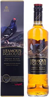 The Famous Grouse SMOKY BLACK Blended Scotch Whisky 40,00% 0,70 lt.