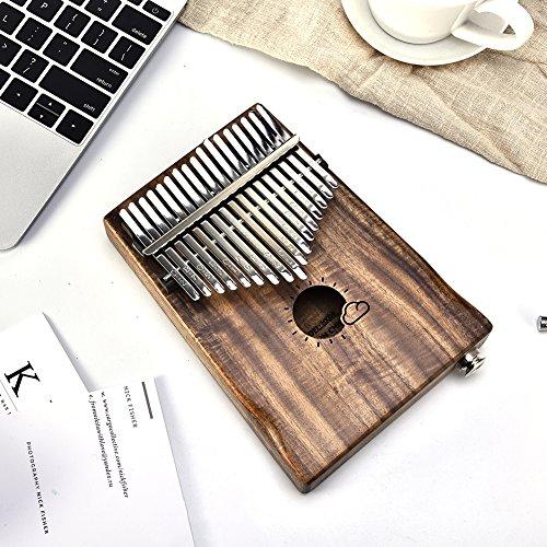 Piano, EQ Kalimba Daumen Link Lautsprecher Elektrische Pickup Musik Handwerk Geschenk (Sun Cloud) 17 Tasten