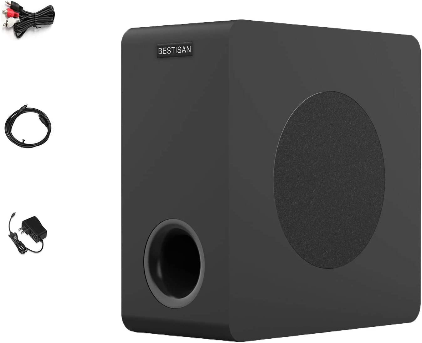 BESTISAN Powered unisex Tucson Mall Subwoofer Compact for Home Audio The