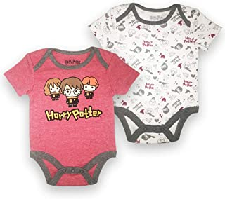 Happy Threads Baby Boys Newborn Infant Graphic Multi Pack Bodysuit Onesie