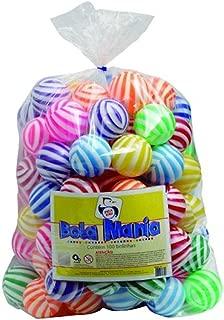 Mania 100 Bolas Saco Plástico Brinquedos Pica Pau