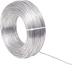 NBEADS 1.5mm Aluminium draad 100m Sieraden Craft maken Kralen Bloemen Gekleurde Aluminium Craft Wire - Zilver