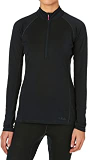 RAB Merino+ 120 Long Sleeve Zip Tee - Women's