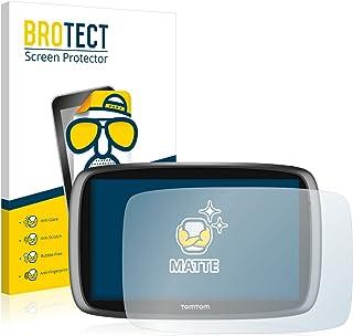 BROTECT Protector Pantalla Anti-Reflejos Compatible con Tomtom GO 5100 (2 Unidades) Pelicula Mate Anti-Huellas