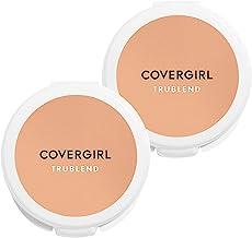 Covergirl Trublend Pressed Blendable Powder, Translucent Medium, 2 Count