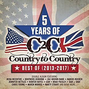 Customer reviews COUNTRY TO COUNTRY 5 YEARS OF BEST OF 2013-2017 (DEL EDT)