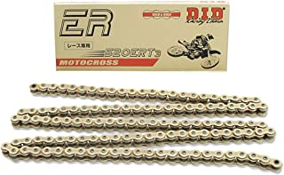 DID 520ERT3-120 Gold 120 Links High Performance Racing Chain with Connecting Link