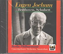 Eugen Jochum Conducts Beethoven Symphony No. 5 in C minor Op. 67 recorded May 1951 Schubert Symphony No. 8