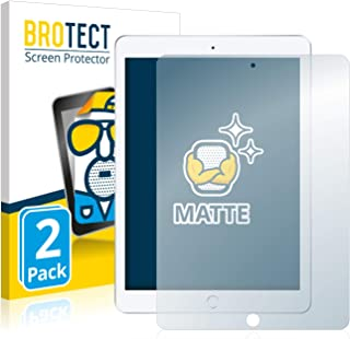 """BROTECT Protector Pantalla Anti-Reflejos Compatible con Apple iPad 9.7"""" 2018 (6a generación) (2 Unidades) Pelicula Mate Anti-Huellas"""