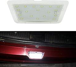 MOLEAQI 1pcs Can-Bus Lámparas de luz de matrícula con número de LED Blanco para O-Pel A-stra G MK4 (98-04) Hatch Saloon