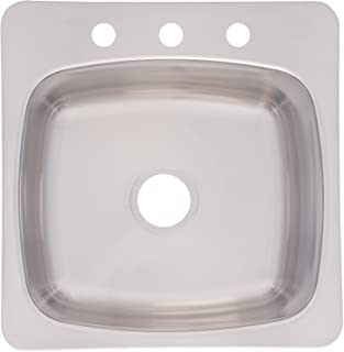 Franke USA SL103BX Sink, 20 Inches, Stainless Steel