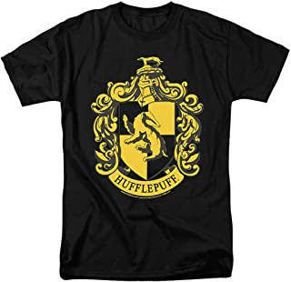 Popfunk Harry Potter Hufflepuff Logo Adult T Shirt & Stickers