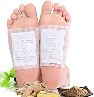 Foot Pads,100 pcs Cleansing Foot Pads for Foot Care, Sleep Better,Foot Care Product,Ginger Bamboo Foot Pacthes,Ginger Foot...