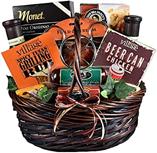 He's a Grill Master! Gourmet Mens Grilling Gift Basket (BBQ and Grilling Gift Basket)