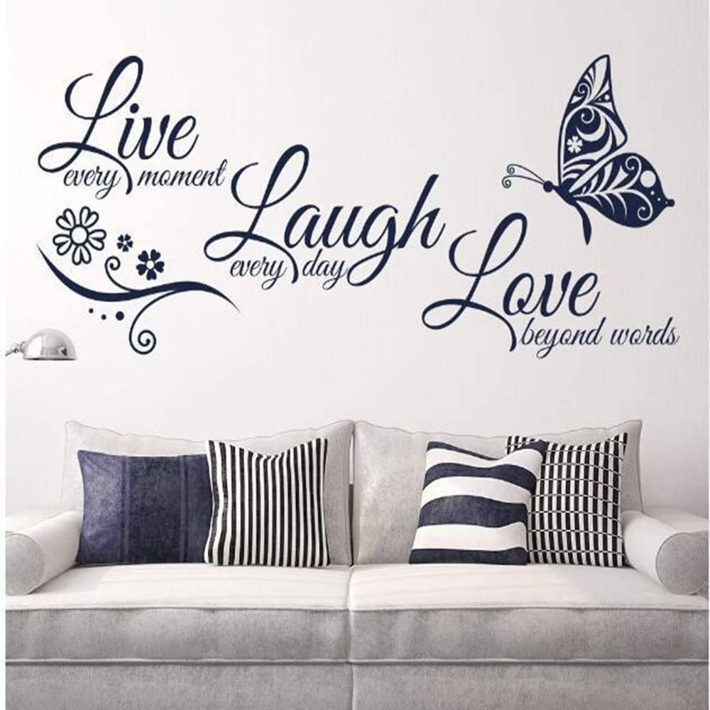 Live Love Laugh Colorado Springs Mall Set New life 3 Motivational Decals Wall Sticker Fami