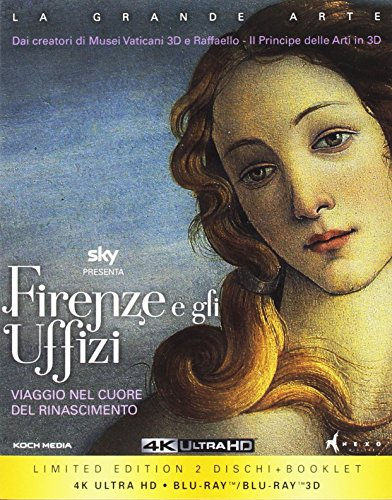 Firenze e gli Uffizi(Collectors Edition) (2 Blu-Ray: 2D/3D + 4K)