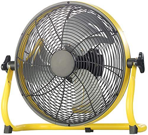 Sichler Haushaltsgeräte Powerbank: Akku-Vollmetall-Bodenventilator, bis 1.200 U/Min, 30 cm, 15 Ah, IPX4 (Ventilator Akku)