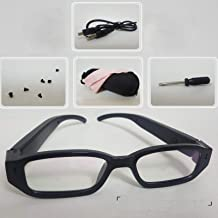 2019 Upgraded Spy Sunglasses Hidden Pinhole Camera with Android Port for 60-80 Minutes Videos-No WiFi- for Christmas and Halloween
