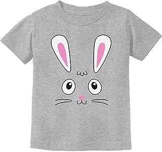 Little Easter Bunny Face Cute Toddler Kids T-Shirt