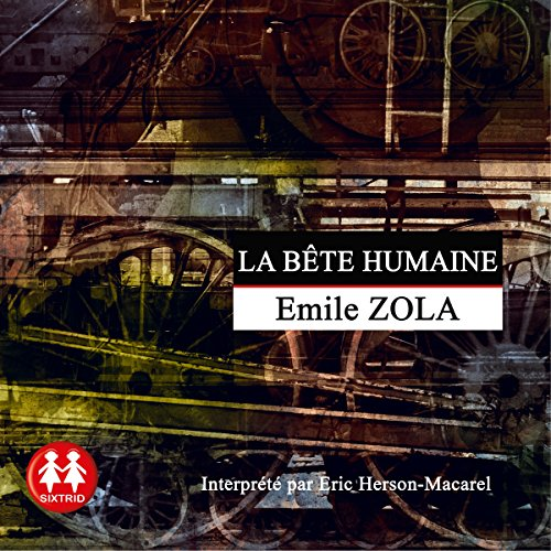 La bête humaine audiobook cover art