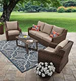 Hawthorne Park 4-Piece Sofa Conversation Set