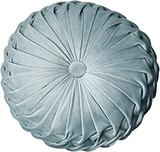 Sofa pillow Patterned circle Pillow Turkish circle pillow Bohemian pillow  16x16  Decorative round pillow brown circle  Kelim kissen  8