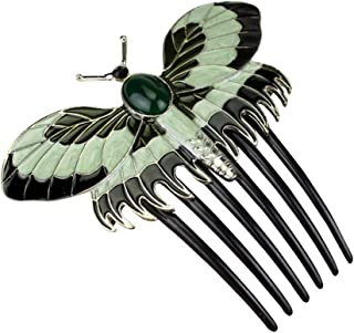 Hair Comb,Titanic Butterfly Vintage Combs Hair Pins Butterfly Style Comb Hairstyle Comb Care Styling Tools