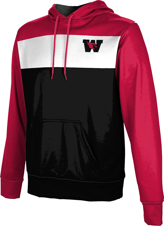 Wesleyan University College Boys' Pullover Hoodie, School Spirit Sweatshirt (Prime)