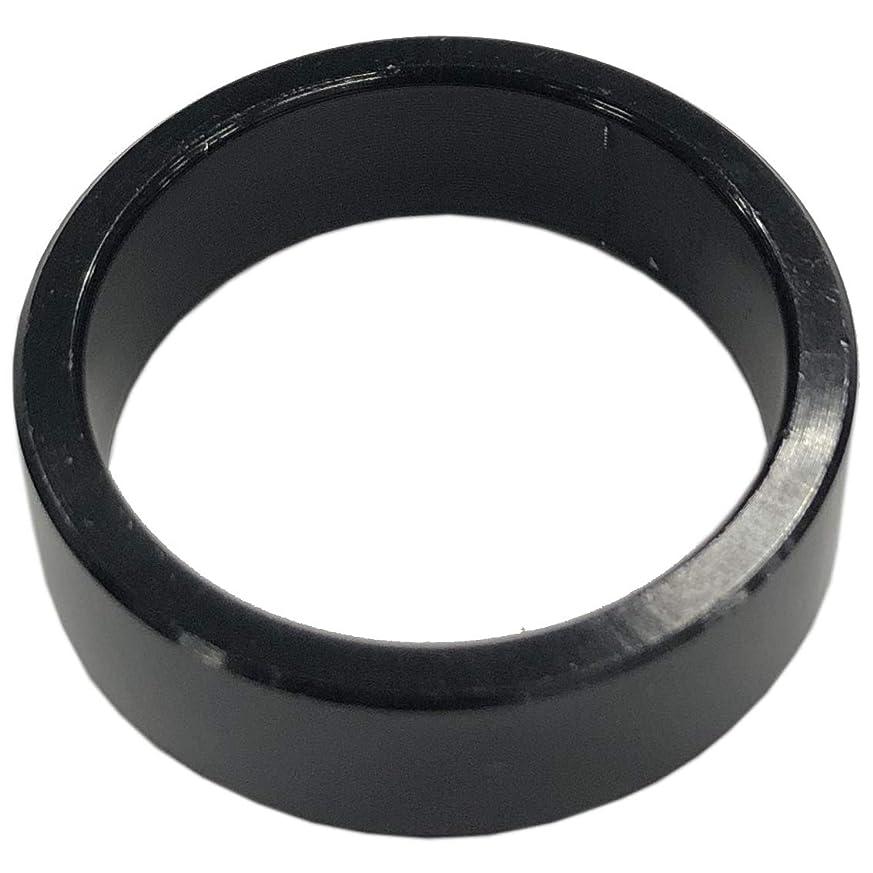 接地応じるシリングDIA COMPE(ダイア コンペ) ヘッドコラム アルミニウムスペーサー 1-1/8 (φ28.6) 10mm ブラック