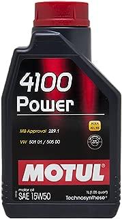 MOTUL 4100 Power 15W50 / 1 Liter